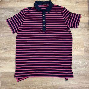 Ralph Lauren men's sz large striped collar shirt